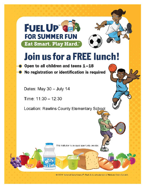 Summer Fun and free lunch